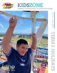 NADO KidsZone June / July School Holiday Program 2021