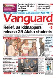 06052021 - Relief, as kidnappers release 29 Afaka students