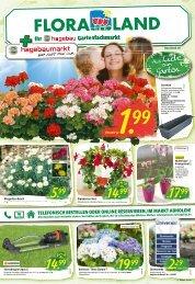 Floraland + Ihr bbk hagebaumarkt | KW 18