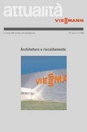 attualita' 02/2001: Architettura e riscaldamento1.7 MB - Viessmann