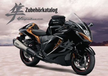 Suzuki HAYABUSA Zubehörprospekt 2021