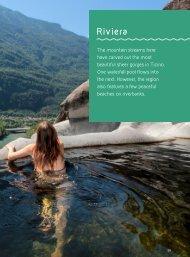 Book «Natural escapes – Ticino», sample pages: Riviera