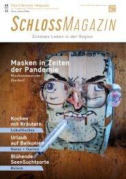 SchlossMagazin Augsburg Nordschwaben + Fünfseenland Mai 2021