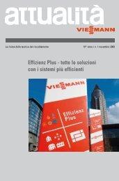 Effizienz Plus - tutte le soluzioni con i sistemi più efficienti - Viessmann