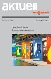 Jetzt in effiziente Heiztechnik investieren - Viessmann