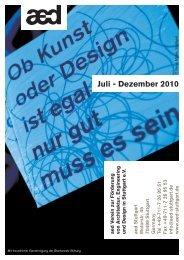Juli - Dezember 2010 - aed Stuttgart