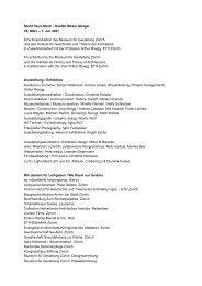 1. Juli 2007 Eine Koproduktion des Museum für ... - eMuseum