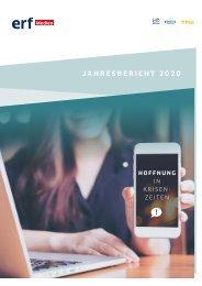 ERF Medien Schweiz Jahresbericht 2020