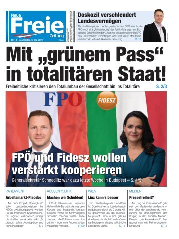"Mit ""grünem Pass"" in totalitären Staat!"