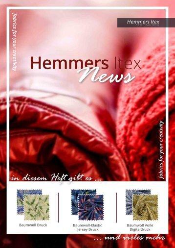 Hemmers Itex_Neuheiten_Q2_DE