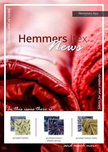 Hemmers Itex_Neuheiten_Q2_ENG