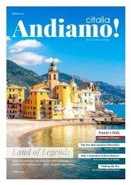 Andiamo! | Citalia Magazine Spring 2021
