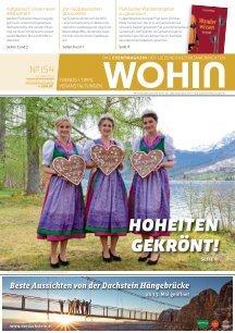 WOHIN Nr. 154 I Mai 2021