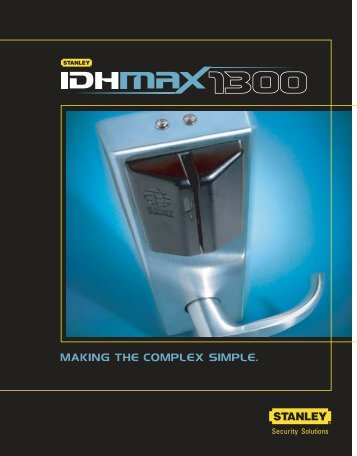 IDH Max 1300 - Best Access Systems