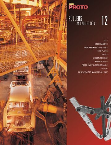 Pullers and Puller Sets - Stanley Proto Industrial Tools