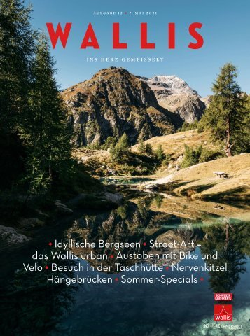 Magazin Wallis Sommer 2021