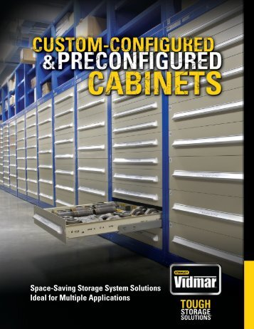 Space-Saving Storage System Solutions Ideal for ... - Stanley Vidmar