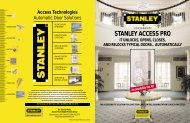 Accessibility For All - Stanley Access Technologies.com