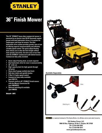 Finish Mower - Gxioutdoorpower.com