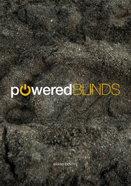 PoweredBlinds Brand Identity