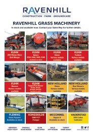 Ravenhill Monthly Featured Machines A4 May 2021
