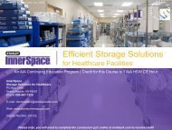 Efficient Storage Solutions - Ron Blank & Associates, Inc.