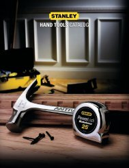 Stanley Hand Tools Catalog - Athena Building
