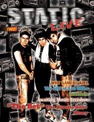 Static Live Magazine May 2021