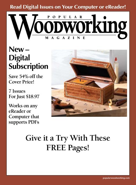 letters - Popular Woodworking Magazine
