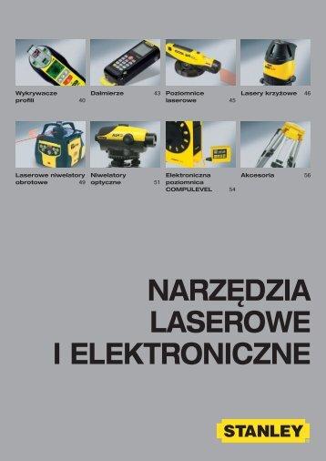 Narzędzia LaseroWe i eLektroNiczNe - Stanley