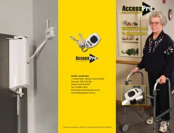 Here's what users of the Stanley AccessPro have ... - Ability Auto Door