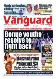 08052021 - Benue youths resolve to fight back