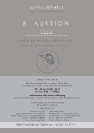 8. AUKTION - Briefmarkenshop.at