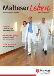 Diabetes Schwerpunktpflege Palliativzentrum - Malteser ...