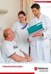 Patienteninformation - Malteser Krankenhaus St. Anna