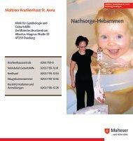 Nachsorge-Hebammen - Malteser Krankenhaus St. Anna