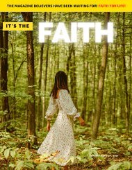 It's the Faith Magazine Shabbat May 8, 2021