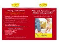Aktiv- und Passivrauchen im Kindes- und Jugendalter - St.Anna ...