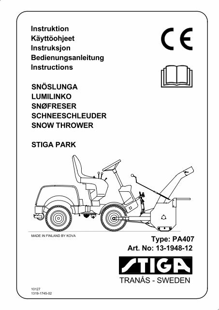 Stiga Park Manual