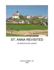 ST. ANNA REVISITED