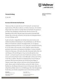 zur Pressemitteilung vom 25. Juli 2011 - Malteser Krankenhaus St ...