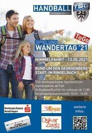 (SPIEL UND) WANDERTAG '21 TSG Reutlingen der Handballabteilung