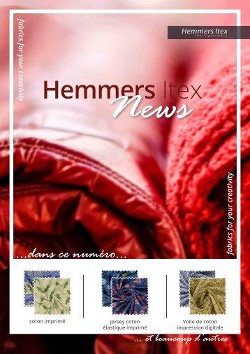 Hemmers Itex_Neuheiten_FR_Q2
