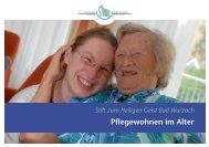 Pflegewohnen im Alter - St. Anna-Hilfe gGmbH