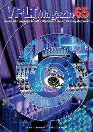 VPLT Magazin 65