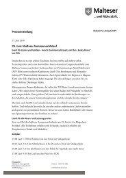 zur Pressemitteilung vom 17. Juni 2011 - Malteser Krankenhaus St ...