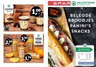 SPAR Helchteren: Belegde broodjes