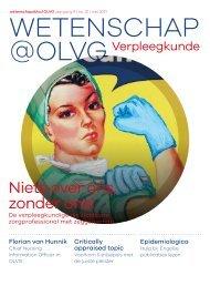Wetenschap@OLVG Verpleegkunde mei 2021