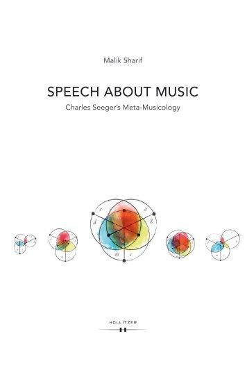 Leseprobe_Speech about Music
