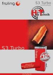 Prospekt Fröling S3 Turbo DE